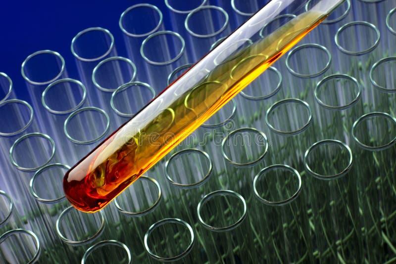 Bio- laboratorio del combustibile immagini stock