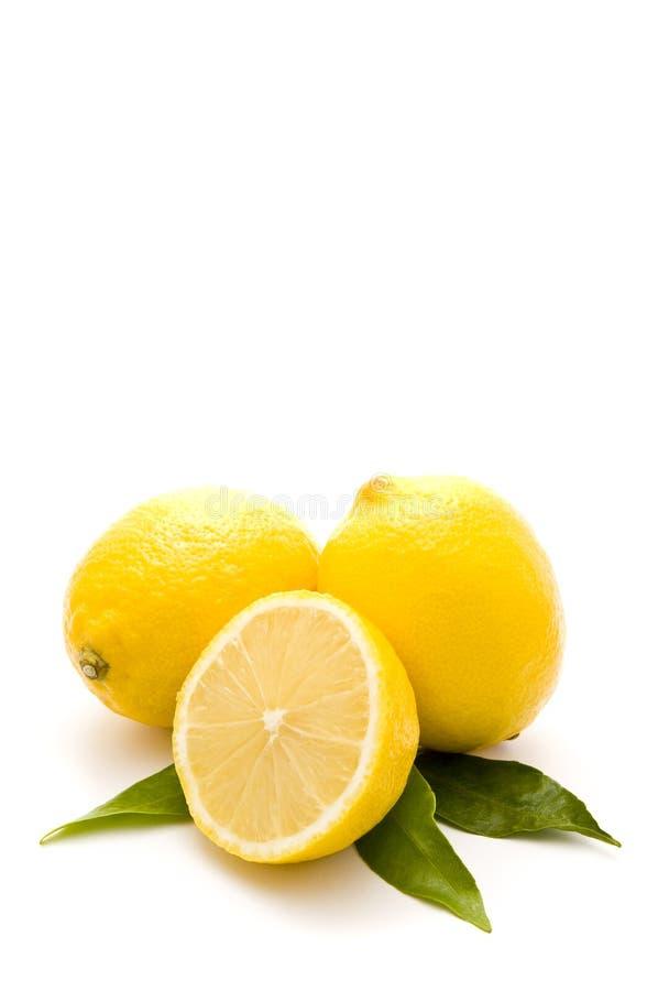 bio- limoni freschi fotografia stock