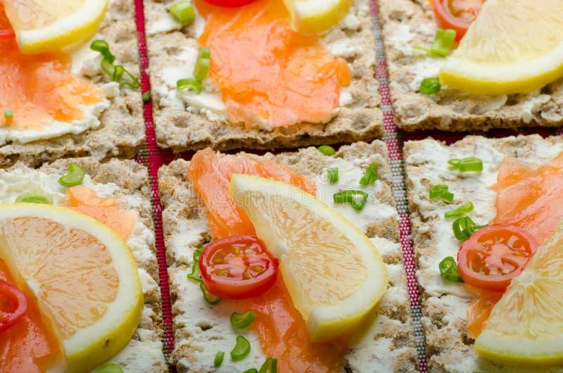 Bio nourriture saine - kneckebrot image libre de droits