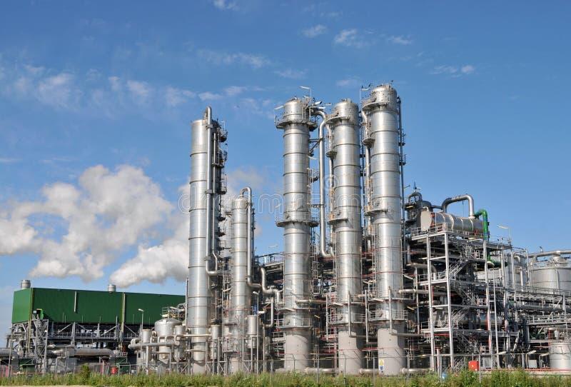 Bio- pianta 3 dell'etanolo immagini stock