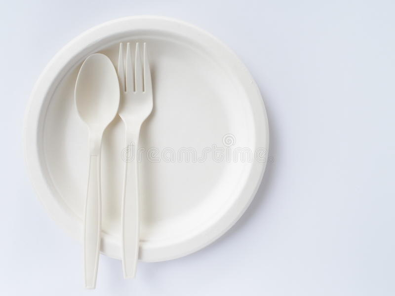 Download Bio Plastic Spoons And Forks On Paper Plate Stock Photo - Image of natural & Bio Plastic Spoons And Forks On Paper Plate Stock Photo - Image of ...