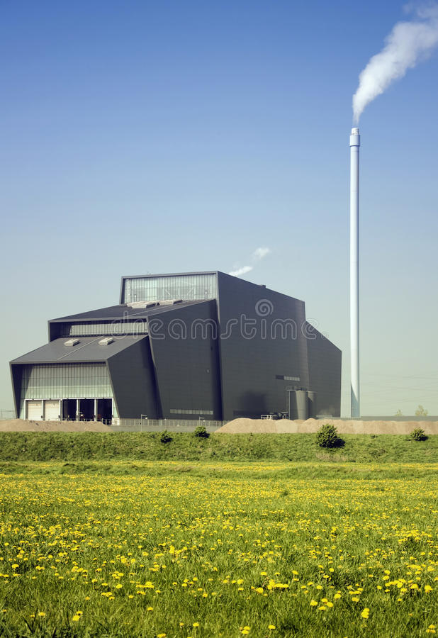 Bio Power plant royalty free stock photos