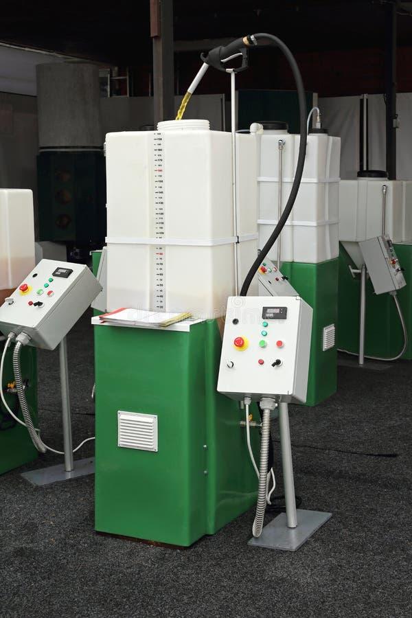 Bio processador diesel fotos de stock royalty free