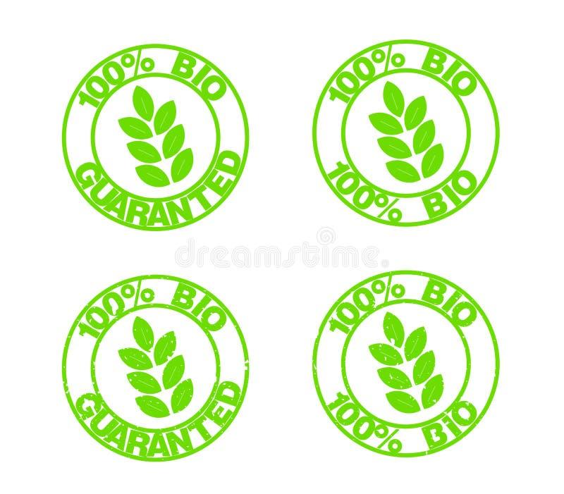Bio stamps stock photos