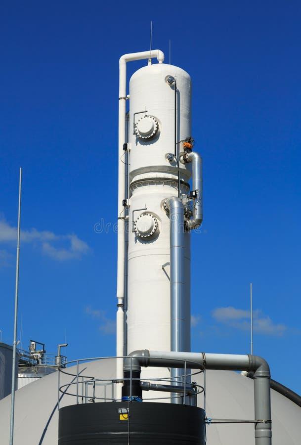 Bio usine de gaz images stock