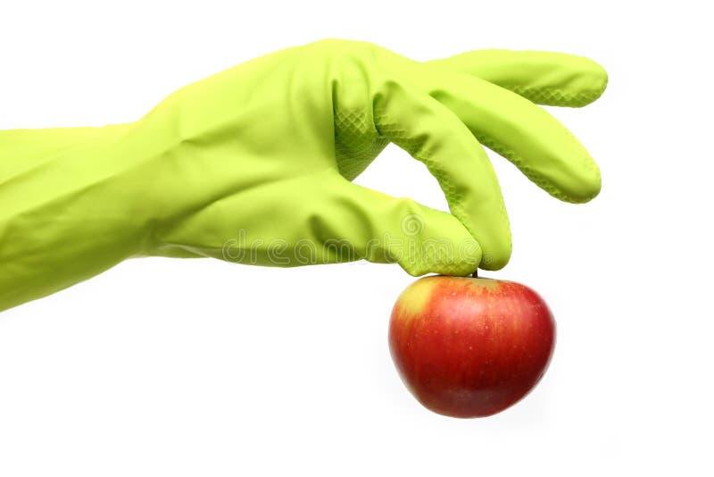 Bioapple lizenzfreie stockbilder