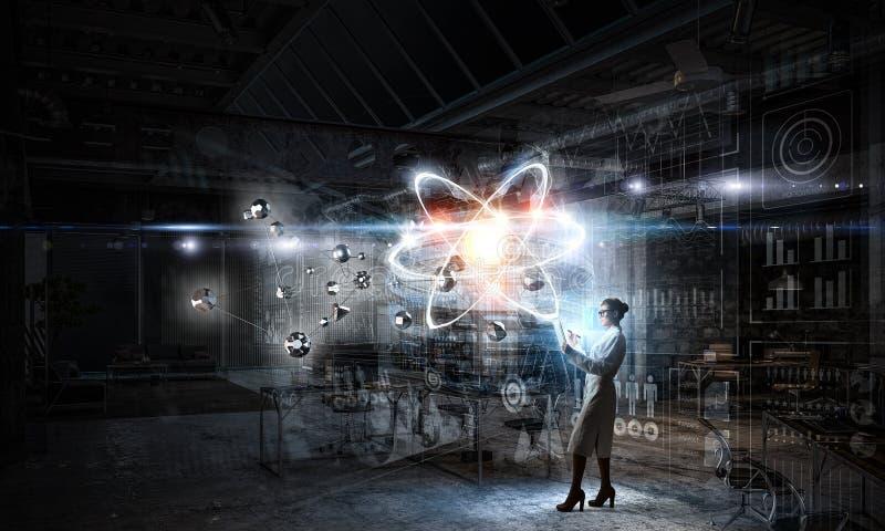 Biochemie i technologie Mieszani środki zdjęcie royalty free