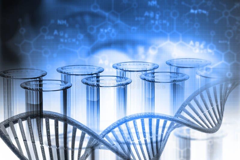 Biochemii pojęcie ilustracja wektor