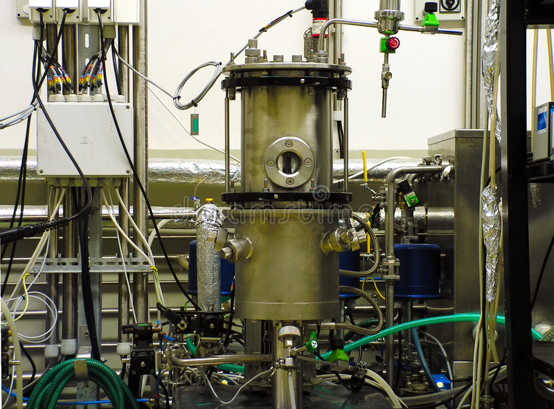 Biochemische Ausrüstung stockfotografie