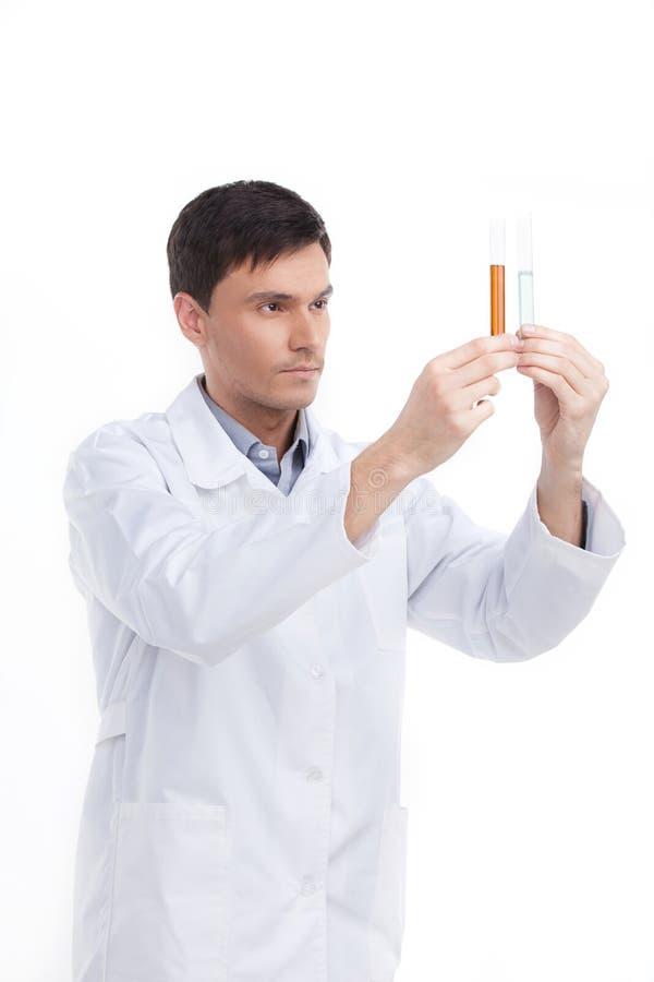 Download Biochemist. Royalty Free Stock Image - Image: 33054536