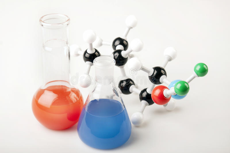 Biochemistry stock images
