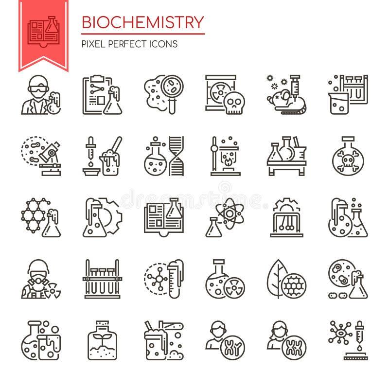Free Biochemistry Elements Stock Image - 107541341