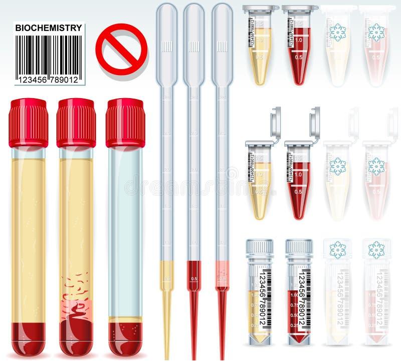 Free Biochemistry Test Complete Set Royalty Free Stock Photo - 50891815