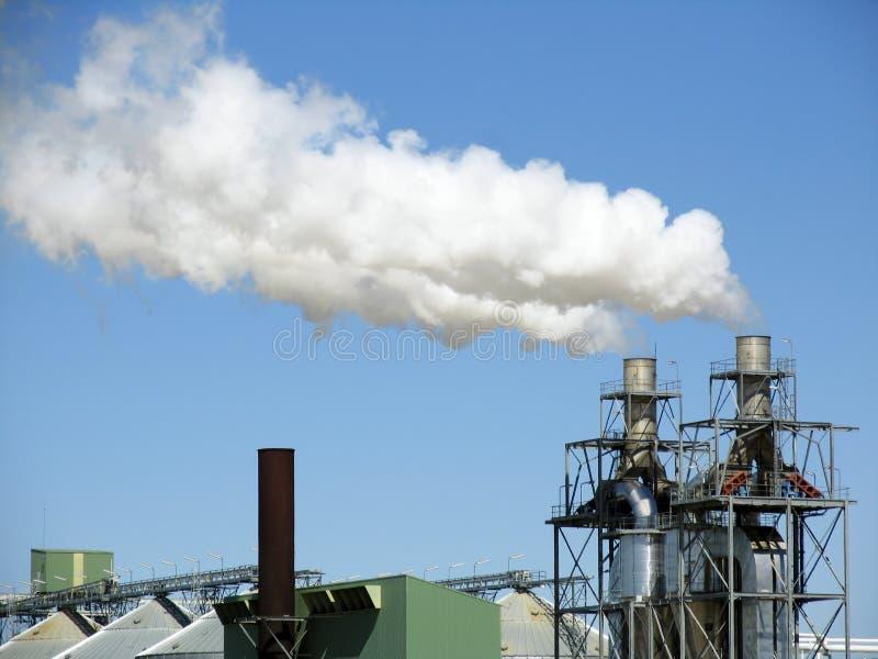 Biodiesel plant royalty free stock photos