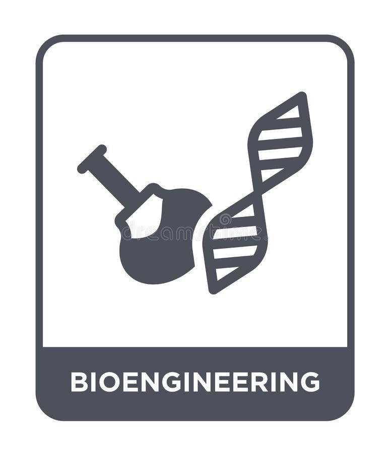 bioengineering ikona w modnym projekta stylu bioengineering ikona odizolowywająca na białym tle bioengineering wektorowa ikona pr ilustracji