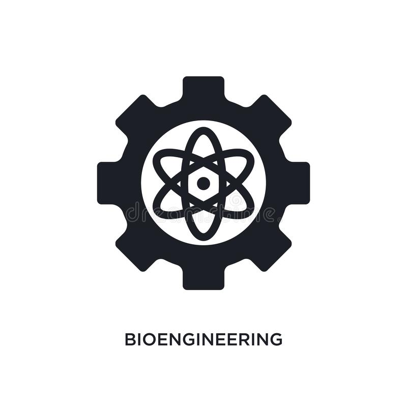 bioengineering odosobniona ikona prosta element ilustracja od general-1 pojęcia ikon bioengineering logo znaka editable symbol royalty ilustracja
