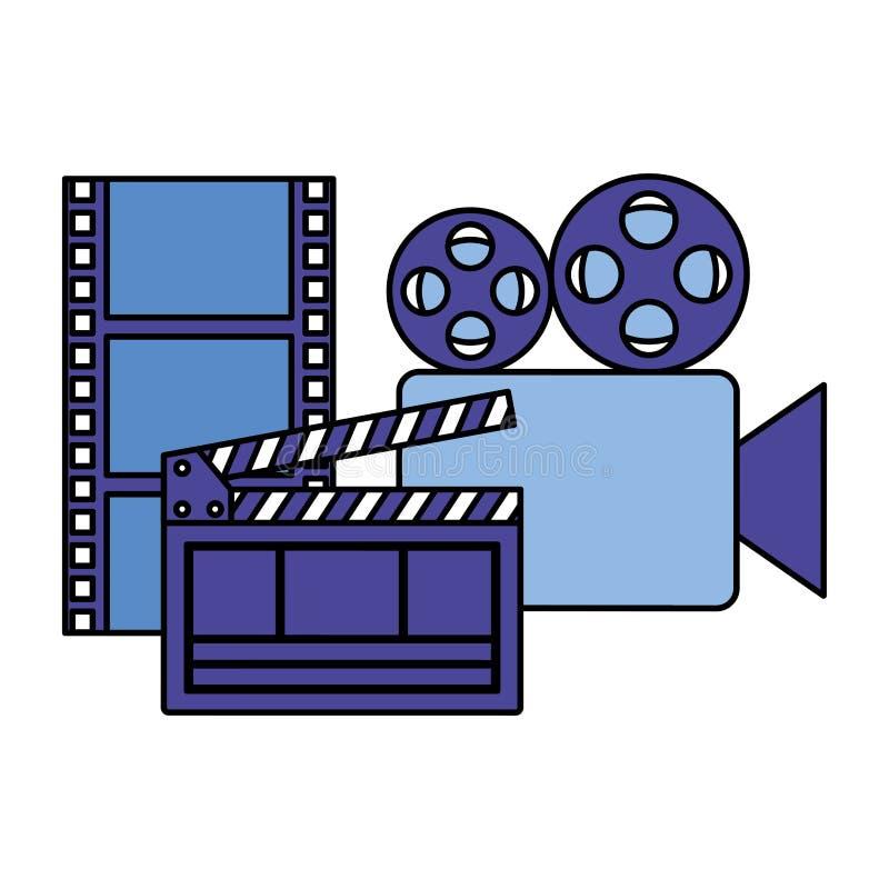 Biofilmfilm stock illustrationer