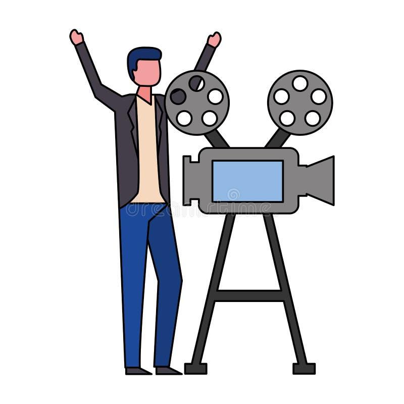 Biofilmfilm royaltyfri illustrationer