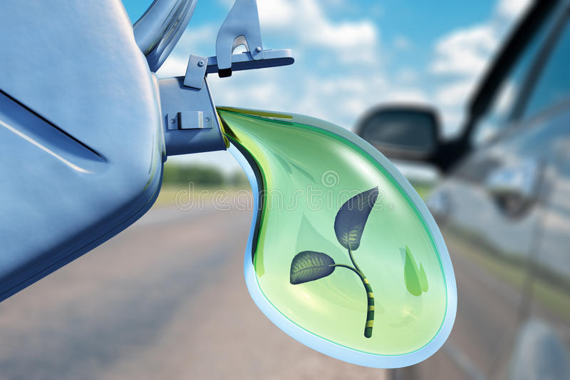 Download Biofuel stock illustration. Image of petrol, green, leaves - 23868600