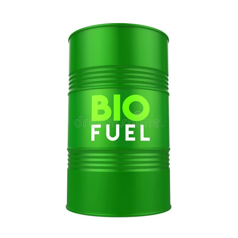 Biofuel Barrel Isolated vector illustration