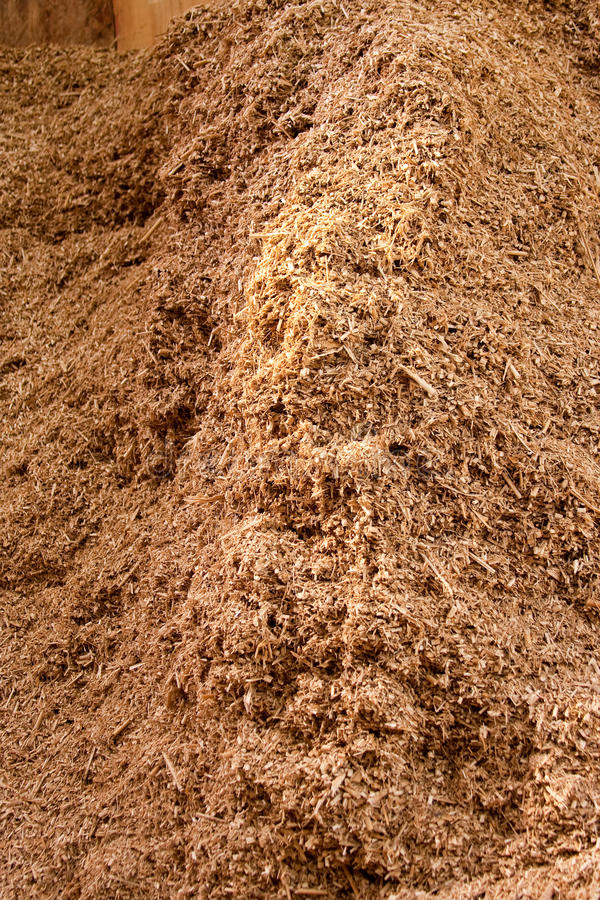 Biofuel Pile Of Environmentally Friendly Biomass Royalty Free Stock Photography