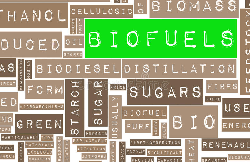Download Biofuels stock illustration. Image of biodiesel, economy - 17769291