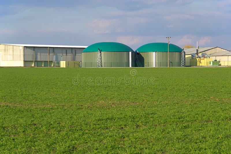Biogas plant 02 royalty free stock photos