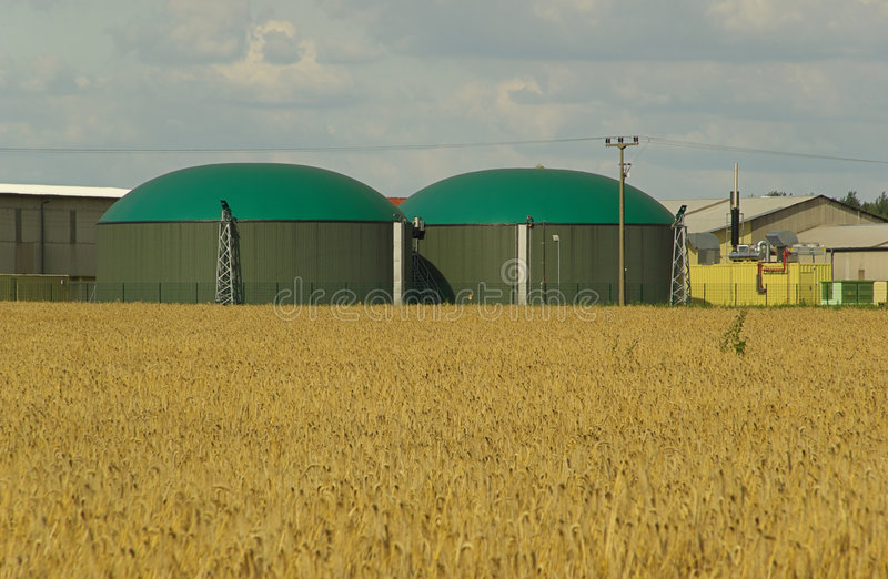 Download Biogas plant 10 stock photo. Image of roof, fermentation - 5862116