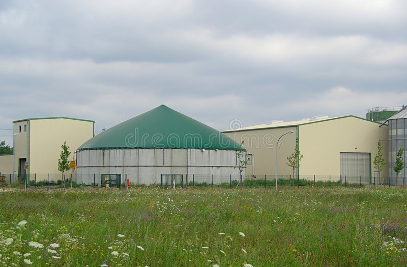 Biogas Plant 26 Royalty Free Stock Image