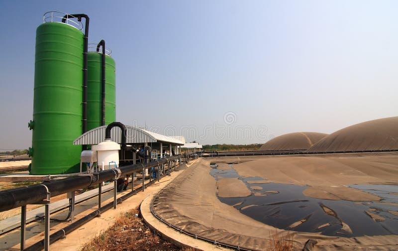 Biogas Tailandia immagine stock
