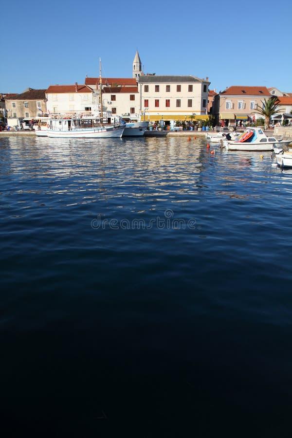 Biograd, Kroatië stock foto