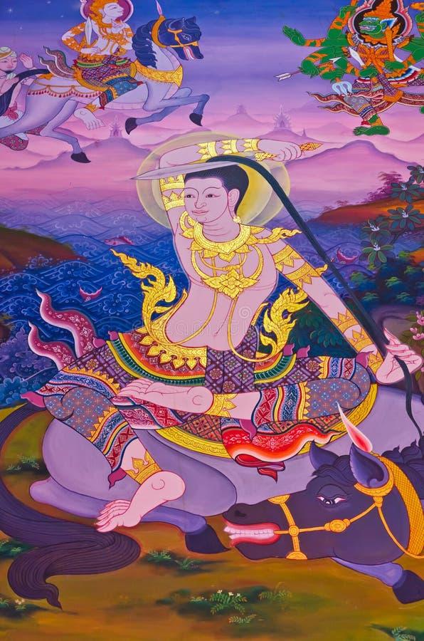 Biografía de Buddha: Prepárese a ordian stock de ilustración