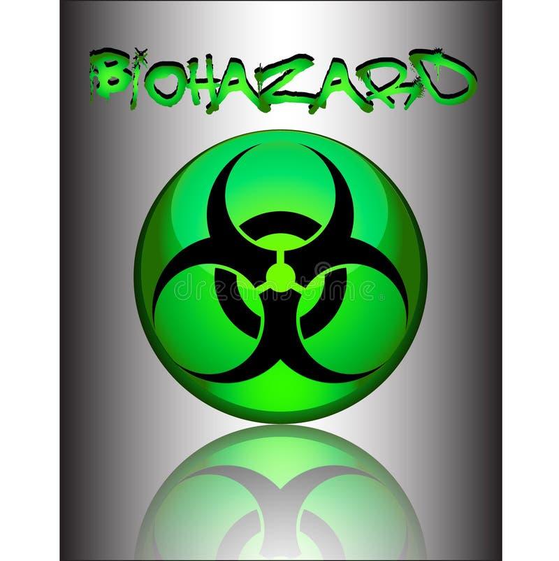 biohazard符号 图库摄影