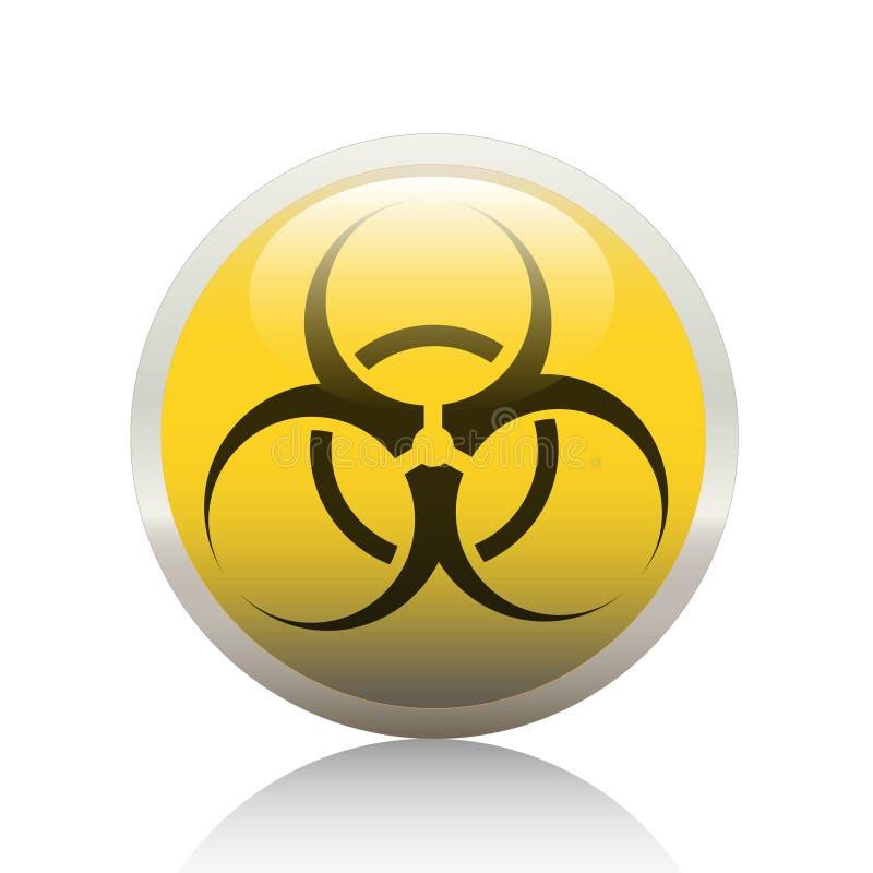 Download Biohazard κουμπί διανυσματική απεικόνιση. εικονογραφία από μολυσμένος - 13182582