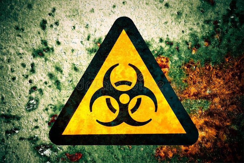 biohazard σημάδι στοκ εικόνες