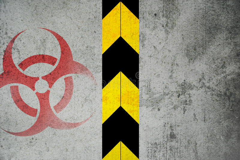 Biohazard royalty illustrazione gratis