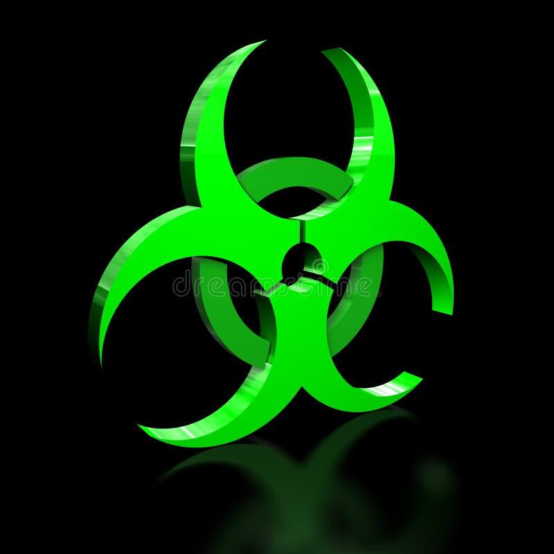 biohazard иллюстрация вектора