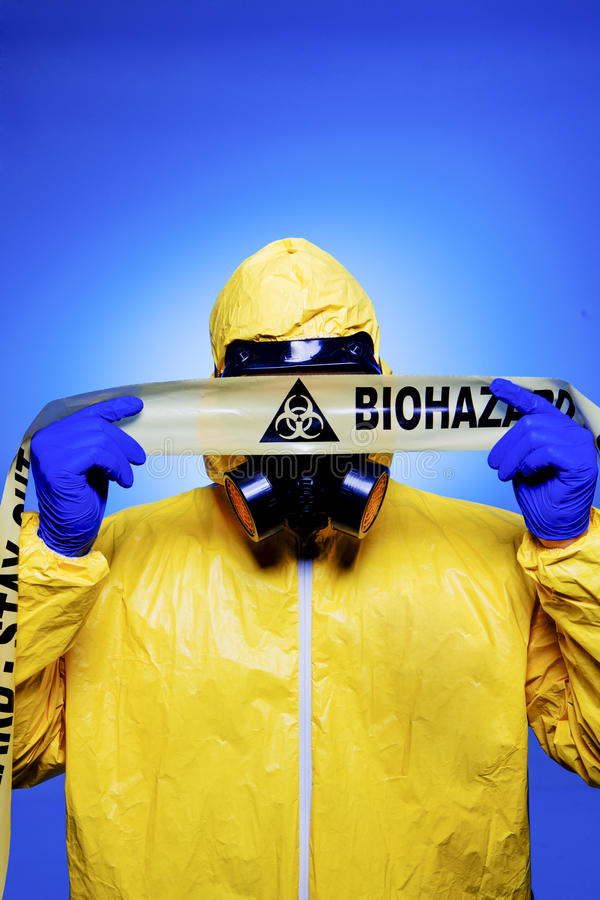 Biohazard fotografia de stock royalty free