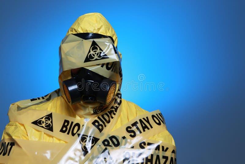 Biohazard royaltyfri foto