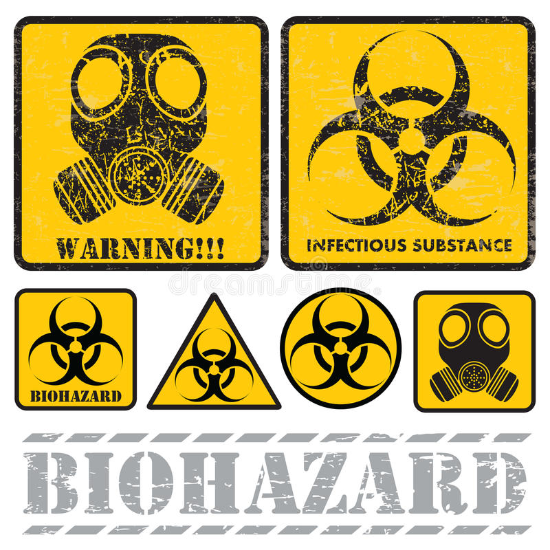 Biohazard royalty-vrije illustratie