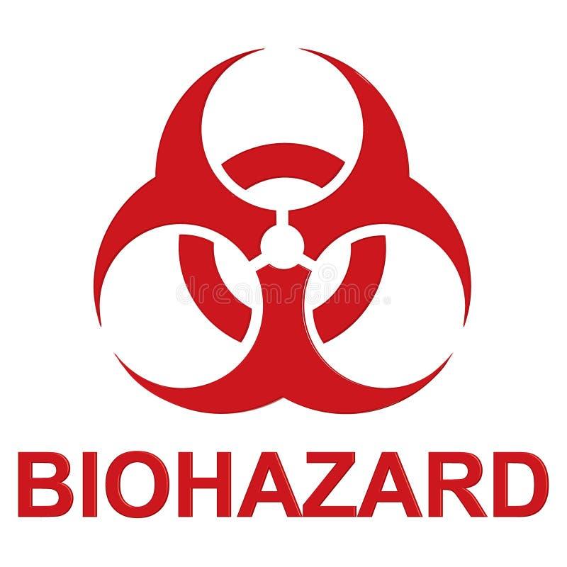 biohazard eps10例证符号向量 皇族释放例证