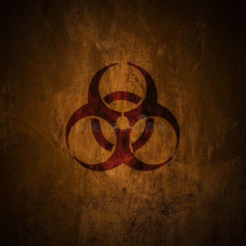 Biohazard, royalty free illustration