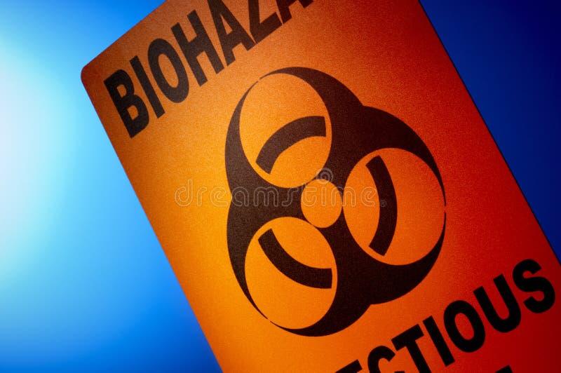 Biohazard: Spreco contagioso immagine stock