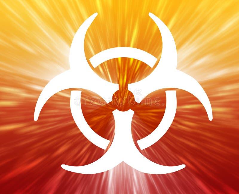 Biohazard Zeichen lizenzfreie abbildung