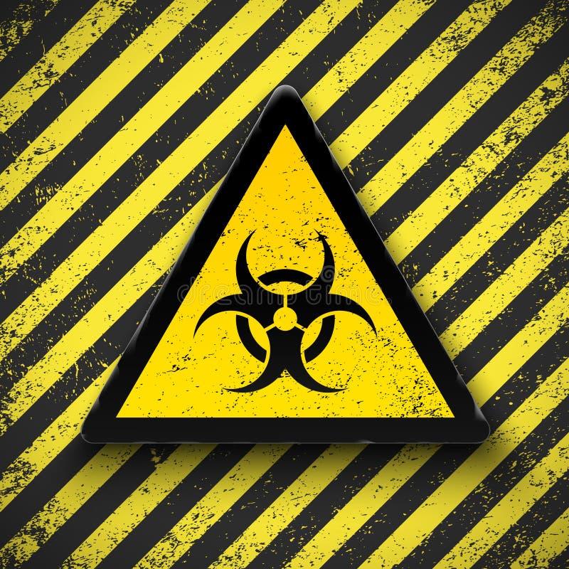 biohazard znak royalty ilustracja