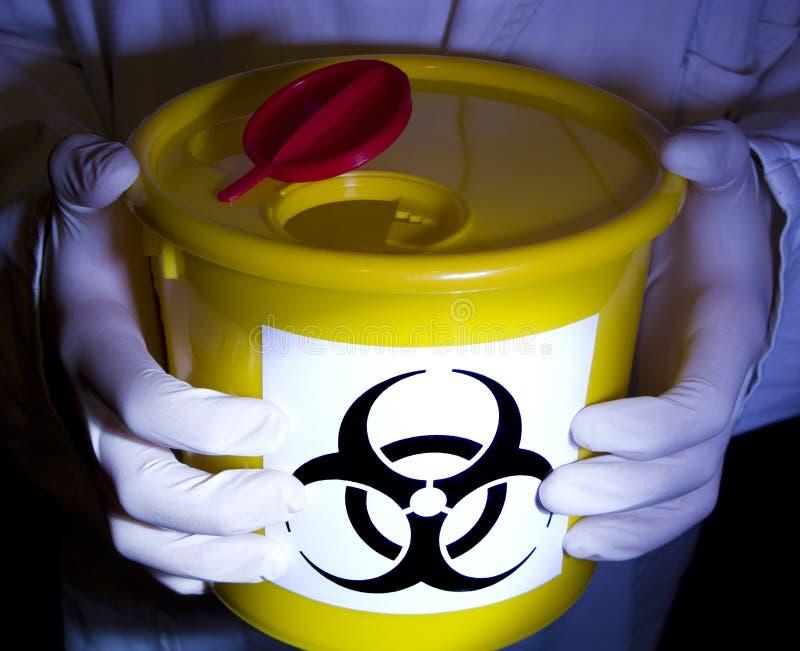 biohazardlaboratorium arkivfoto