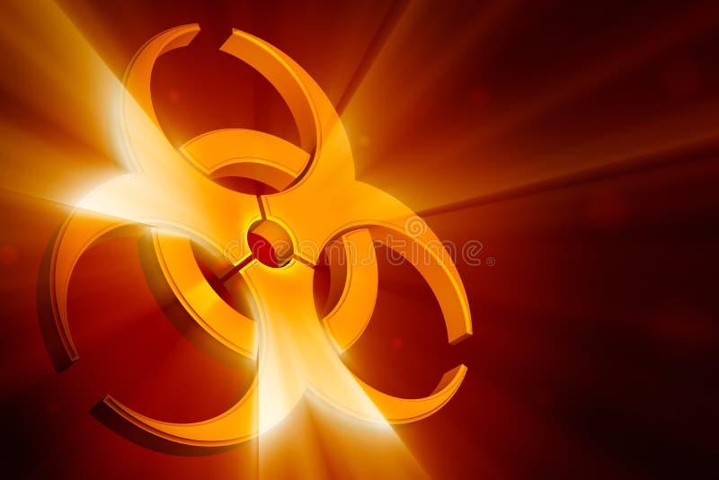Biohazardsymbol lizenzfreie abbildung