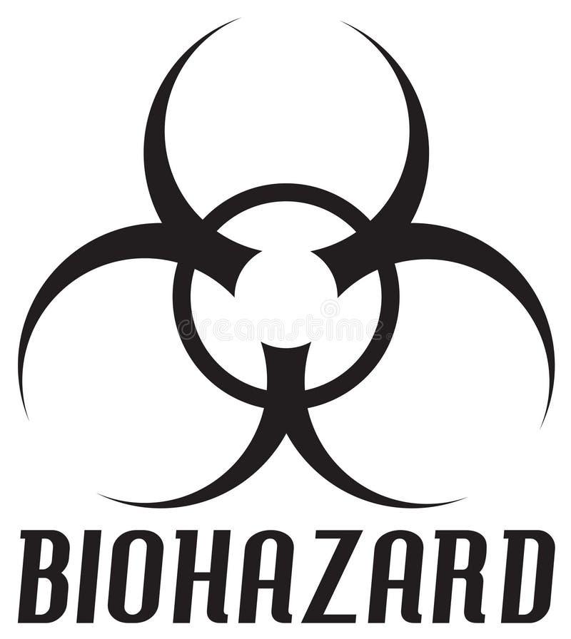 Download Biohazardsymbol stock illustrationer. Illustration av logo - 509153