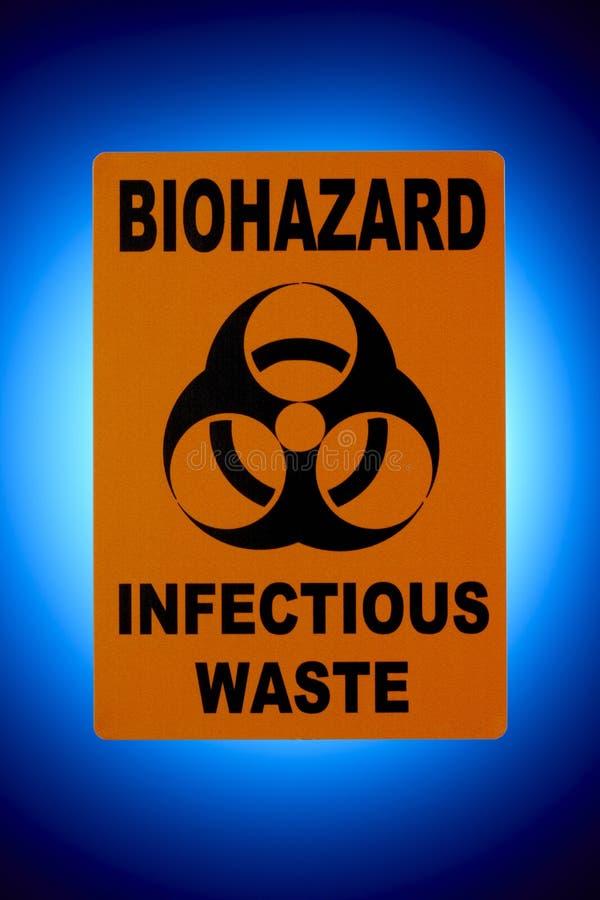 biohazardtecken royaltyfria bilder