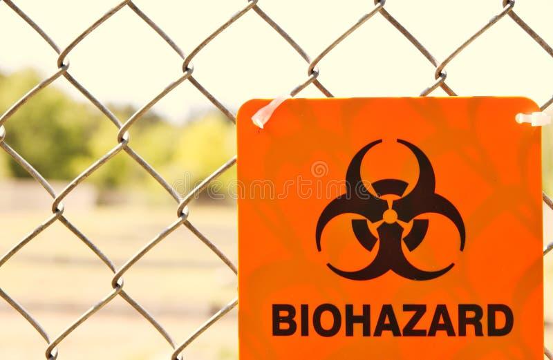Biohazardtecken. royaltyfria bilder